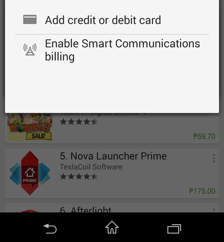 Smart Telecom Carrier Billing