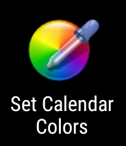Set Calendar Colors App Logo