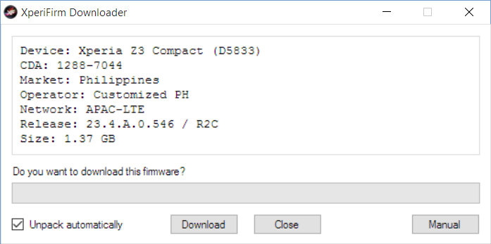 A comprehensive guide on downloading firmware files via a download