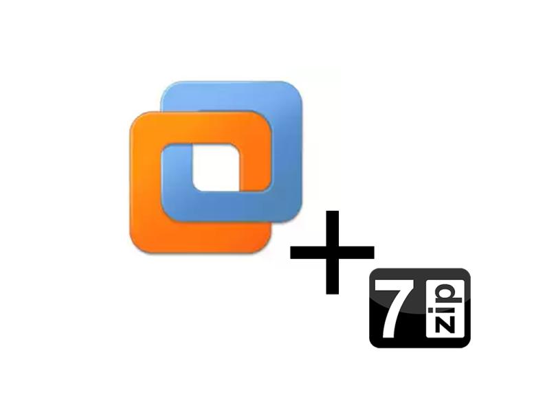 VMware + 7zip