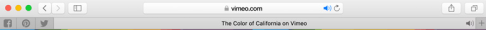 Safari: Browser tab (courtesy of Apple)