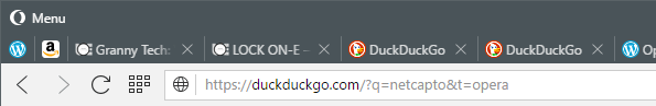 The first two tabs (wordpress and Amazon) are pinned ones and the third and succeeding tabs are a normal tabs
